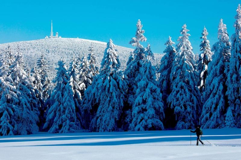 Harz, Blick zum Brocken