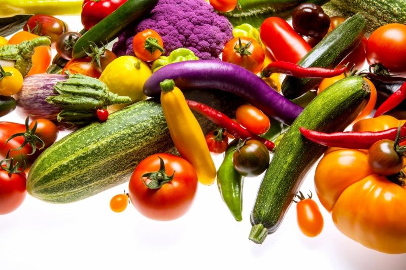 Gemüse in allen Farben