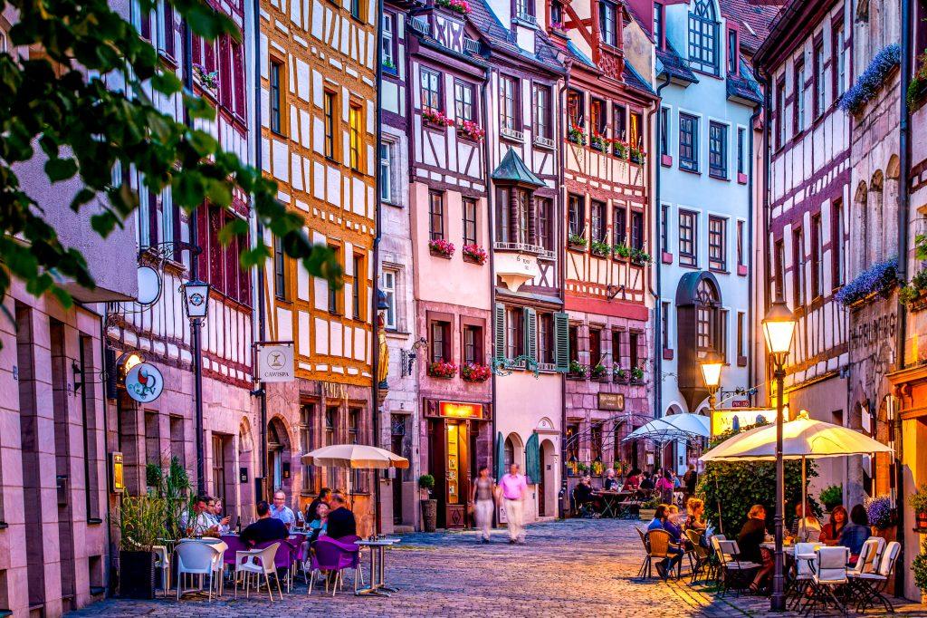 Bayern, Nürnberg, Altstadt