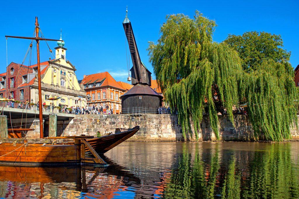 Niedersachsen, Lüneburg, Stinthafen