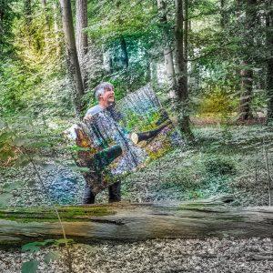 Autor Ingo Wandmacher im Geibelwald in Bad Schwartau