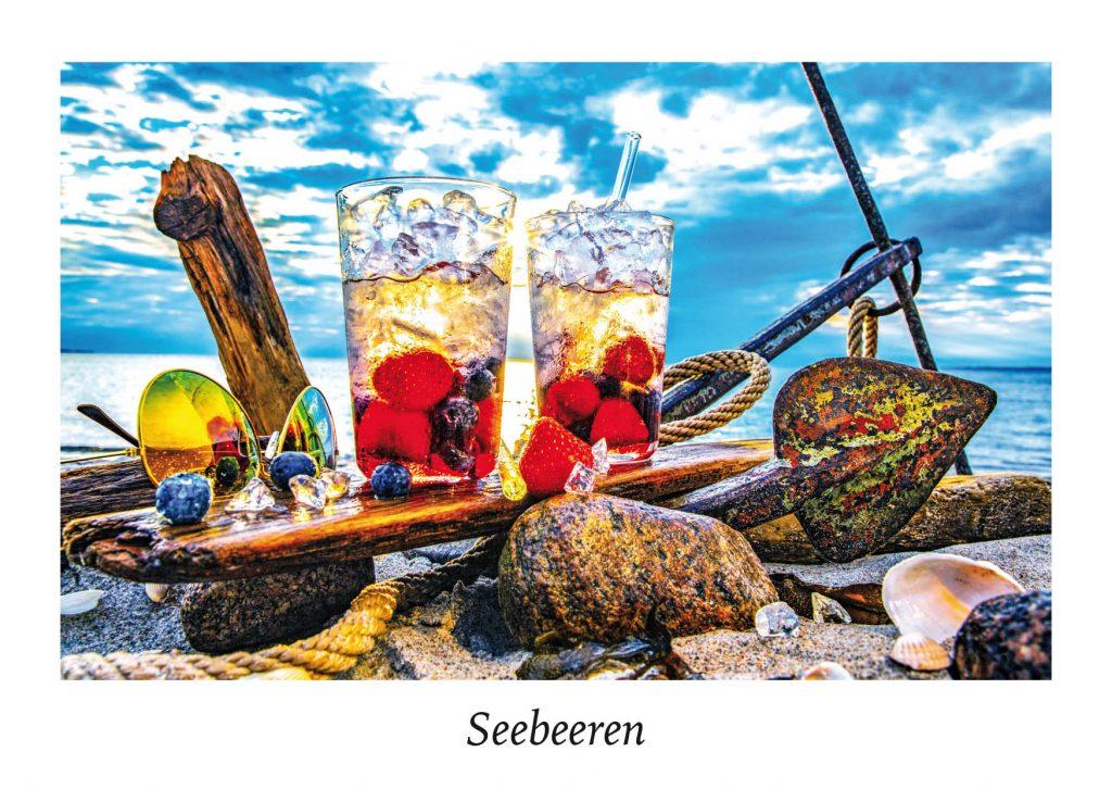 Ansichtskarte Ostseeküste - Serie Strandgut