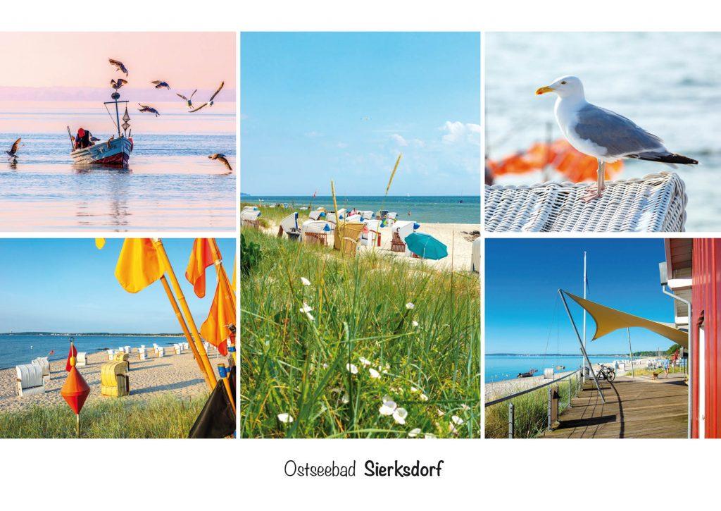 Ansichtskarte, Postkarte Ostseebad Sierksdorf in der Lübecker Bucht