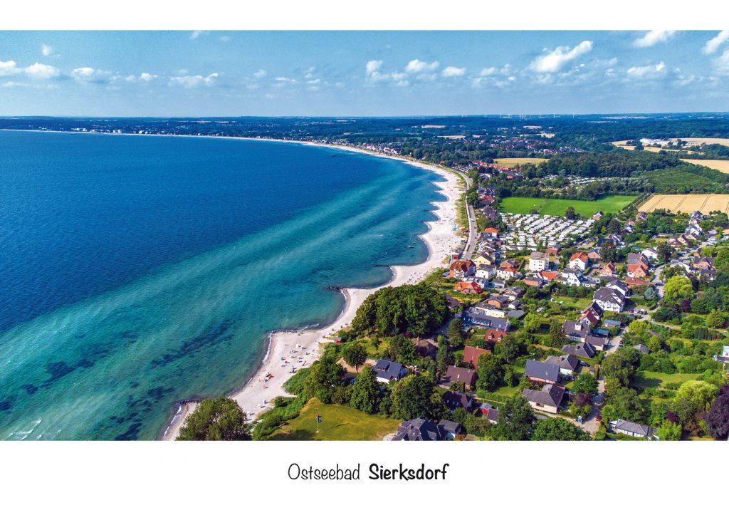 Ansichtskarte Ostseebad Sierksdorf in der Lübecker Bucht
